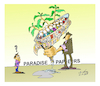 Cartoon: paradise papers (small) by vasilis dagres tagged offshore,company