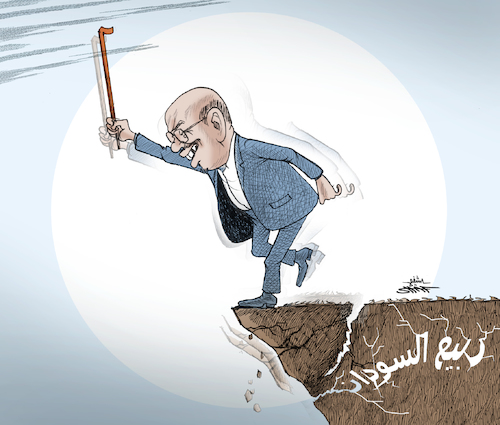 Cartoon: sudan1 (medium) by shaf tagged cartoonists