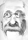 Cartoon: Einstein (small) by higi tagged einstein,alberteinstein,genie,physik,mamethematic,legend