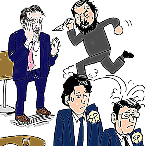 Cartoon: Mark Lippert (medium) by takeshioekaki tagged marklippert