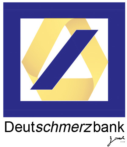Cartoon: Deutschmerzbank (medium) by jpn tagged deutschebank,commerzbank,fusion,finanzen