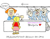 Cartoon: Unheimlich (small) by Bregenwurst tagged pflege,pflegnotstand,altenheim,senioren