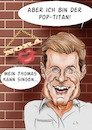 Cartoon: Dieter Bohlen (small) by Thomas Vetter tagged karikatur