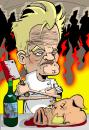 Cartoon: Gordon_Ramsey (small) by GrahamFox tagged gordon ramsey