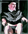 Cartoon: papa (small) by edoardo baraldi tagged benedettoxvi ratzinger