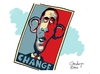 Cartoon: Hope for Change (small) by Goodwyn tagged president,obama,election,hope,change