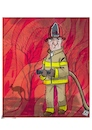 Cartoon: Australian Fires (small) by Christi tagged incendio,australia,ambiente,bruciare,isola
