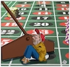 Cartoon: Las Vegas (small) by Christi tagged barboni,las,vegas,parcheggio,usa