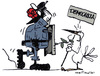 Cartoon: progreso 2 (small) by mortimer tagged mortimer,mortimeriadas,cartoon,comic,spanish,revolution,police,psoe,socialism,democracia,peace,paz