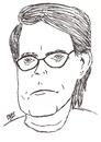 Cartoon: Stephen King (small) by perevilaro tagged stephen,king,writer