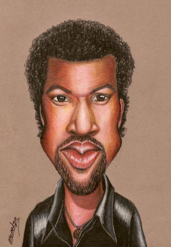 Cartoon: Lionel RICHIE (medium) by menekse cam tagged lionel,richie,singer,portrait,man
