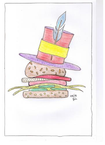 Cartoon: Mister V. G. Burger... welcome (medium) by skätch-up tagged vegetarier,vegetable,burger,gemüse,früchte,kraut,und,rüben,brötchen,käse