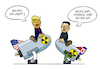 Cartoon: Donald und Kim (small) by Sven Raschke tagged donald,trump,kim,jong,un,krieg,usa,nordkorea,diplomatie
