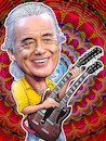 Cartoon: Jimmy Page (small) by Joshua Aaron tagged led,zeppelin,gitarre