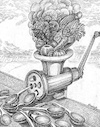Cartoon: Ecology (small) by Vladimir Khakhanov tagged ecology
