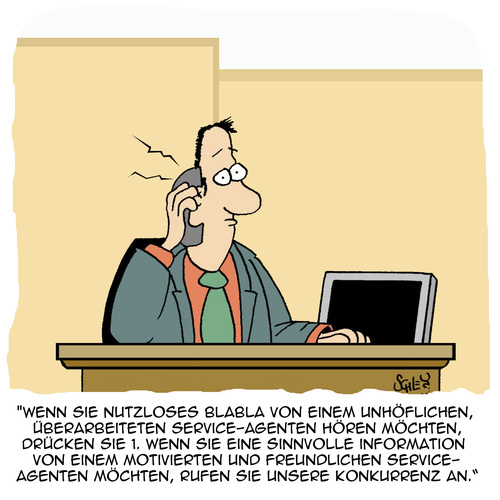 Cartoon: Drücken Sie... (medium) by Karsten tagged kunden,wirtschaft,business,kundenservice,callcenter,jobs,kunden,wirtschaft,business,kundenservice,callcenter,jobs