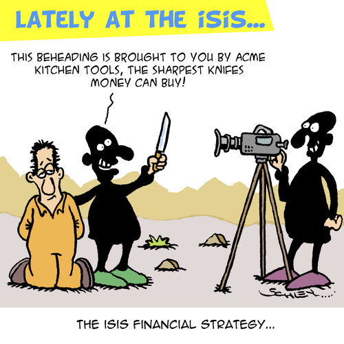 Cartoon: Isis Financial Concept (medium) by Karsten tagged money,isis,terror,religion,islam,crime,finance,money,isis,terror,religion,islam,crime,finance