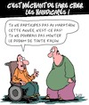 Cartoon: Blagues sur les handicapes (small) by Karsten Schley tagged handicapes,sport,blague,societe,sante