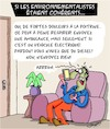 Cartoon: Coherent (small) by Karsten tagged environnement,nature,climat,sante,diesel,voitures