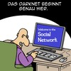 Cartoon: DARKNET (small) by Karsten tagged computer,technik,kriminalität,cybercrime,darknet,internet,facebook,hass,politik,demokratie,mobbing