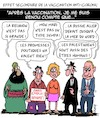 Cartoon: Effet Secondaire (small) by Karsten tagged politique,sante,corona,covid19,vaccination,effets,secondaires
