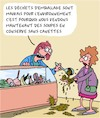 Cartoon: Emballages (small) by Karsten tagged commerce,environnement,climat,emballages,clients