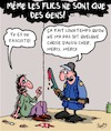 Cartoon: Flics (small) by Karsten tagged flics,violence,fascisme,politique,manifs,sante