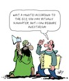 Cartoon: Freedom of Religion (small) by Karsten Schley tagged islam,islamists,terrorism,caricatures,democracy,politics,religion,rituals,society,culture