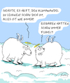 Cartoon: Ganz Normal (small) by Karsten tagged klimawandel,faktenleugnung,wetter,katastrophen,tiere,temperaturen,natur,menschheit,politik,umweltschutz,gesellschaft,wissenschaft