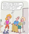 Cartoon: Gebt es zu! (small) by Karsten tagged dating,computerhacker,russland,familien,jugend,eltern,generationskonflikt,erziehung,technik,gesellschaft