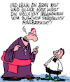Cartoon: Mit Glück (small) by Karsten tagged katholizismus,priester,kinder,kindesmissbrauch,verbrechen,pädophilie,sex,gewalt,kirche,vatikan,kriminalität,religion,gesellschaft,deutschland