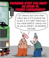 Cartoon: Pensez logiquement! (small) by Karsten tagged covid19,morts,sante,politique,youtube,fake,news,medias,internet