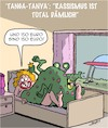 Cartoon: Rassismus (small) by Karsten tagged science,fiction,aliens,sex,jobs,frauen,raumfahrt,rassismus,politik,gesellschaft