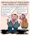 Cartoon: Rire a Erdogan (small) by Karsten tagged erdogan,turquie,france,macron,politique,religion,islam,terrorisme,economie,charlie,hebdo,medias