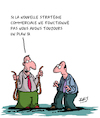 Cartoon: Strategie (small) by Karsten tagged entreprises,economie,strategie,plan,commercial,benefice,capitalisme