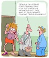 Cartoon: Stress (small) by Karsten tagged familles,enfants,stress,hommes,femmes,vacances