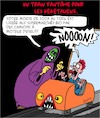 Cartoon: Train Fantome (small) by Karsten tagged fete,foraine,divertissement,nutrition,vegetaliens,modes,tendances