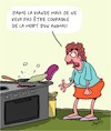 Cartoon: Viande... (small) by Karsten tagged alimentation,viande,environnement,animaux,agriculture,elevage