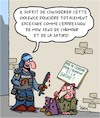 Cartoon: Violence Policiere (small) by Karsten tagged police,violence,humour,satire,liberte,caricatures,politique,medias