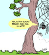 Cartoon: Worldwide Web (small) by Karsten tagged internet,worldwide,web,tiere,computer