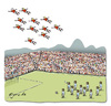 Cartoon: The flying Dutchmen (small) by Egero tagged egero,argentina,vs,netherlands