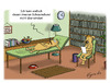 Cartoon: typisches Hundeproblem (small) by Egero tagged hund,psychiater