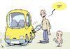 Cartoon: Feeding the car (small) by rodrigo tagged fuel,price,oil,cost,gas,energy,crisis,car,transport,europe,tax,diesel,rise,usa