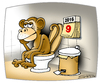 Cartoon: 2016 (small) by Svetlin Stefanov tagged monkey