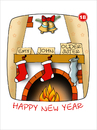 Cartoon: Happy new year (small) by Svetlin Stefanov tagged svetlin
