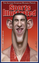 Cartoon: Michael Phelps (small) by alvarocabral tagged caricature