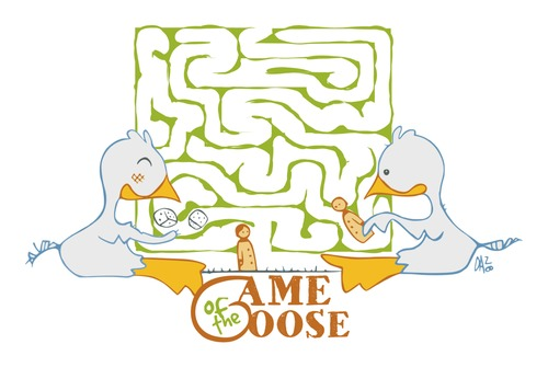 Cartoon: Game of the Goose (medium) by dan8 tagged games,goose,gioco,oche