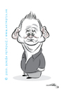 Cartoon: Bill Murray 2 (small) by sinisap tagged caricature