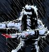 Cartoon: Anger Managment (small) by sehroiber tagged woman,knife,rain,illustration