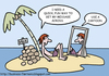 Cartoon: Island (small) by Flantoons tagged advertising,cartoons
